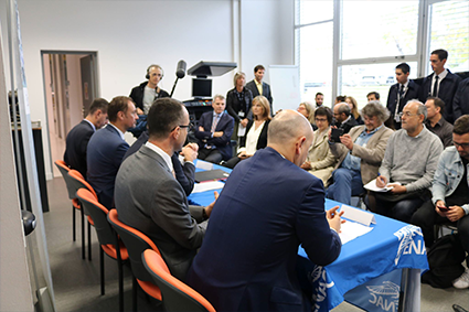 Signature d'un partenariat entre l'ENAC et Air France_Contenu4
