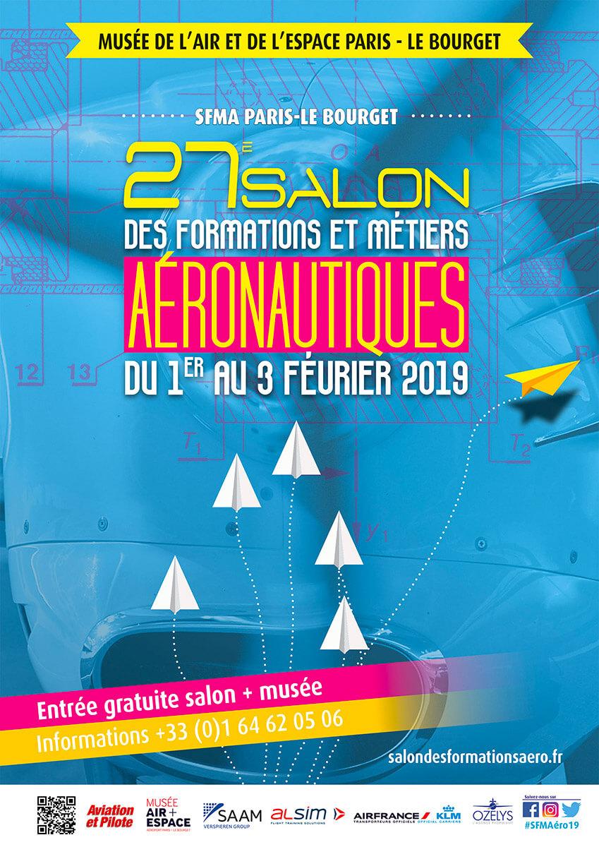 27e édition du salon des formations et métiers aéronautiques