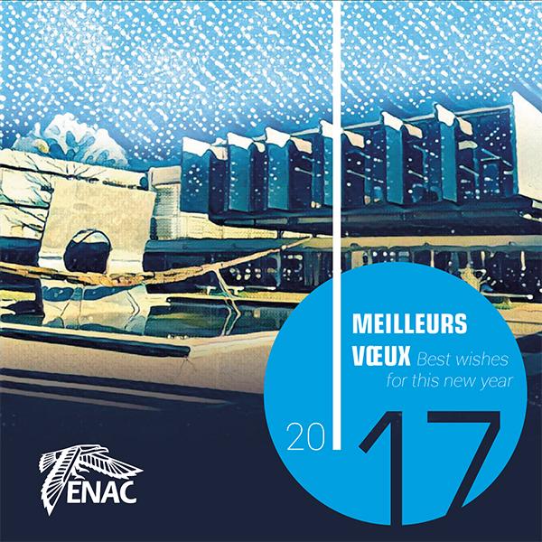 Carte de voeux ENAC 2017