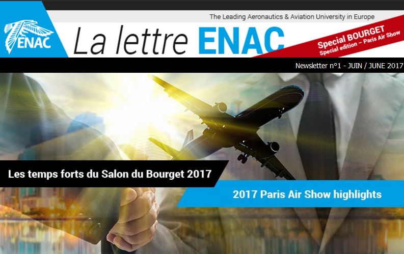 ENAC Newsletter - Paris Air Show Special edition