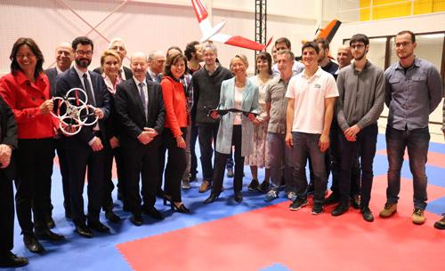 Ministre Volière Drones Toulouse Occitanie
