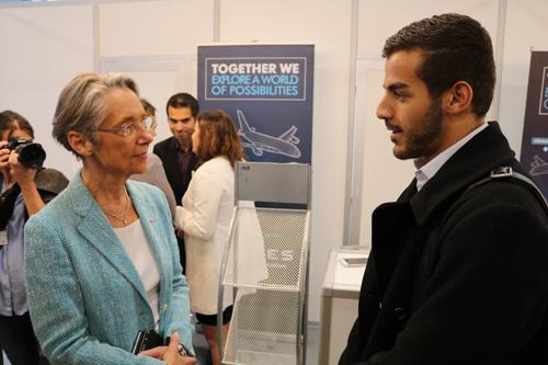 Visite Ministre ENAC