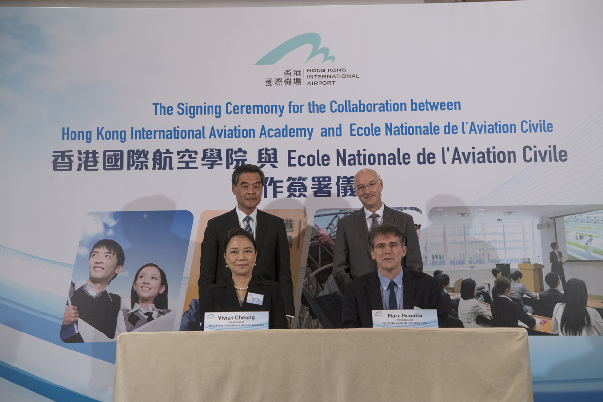 Signature ENAC Hong Kong Aviation Academy