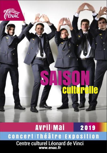 Saison culturelle Avril - Mai 2019