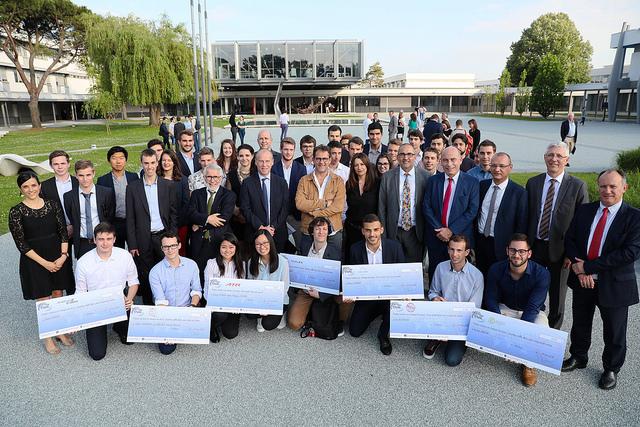 Cérémonie de remise des bourses internationales2018