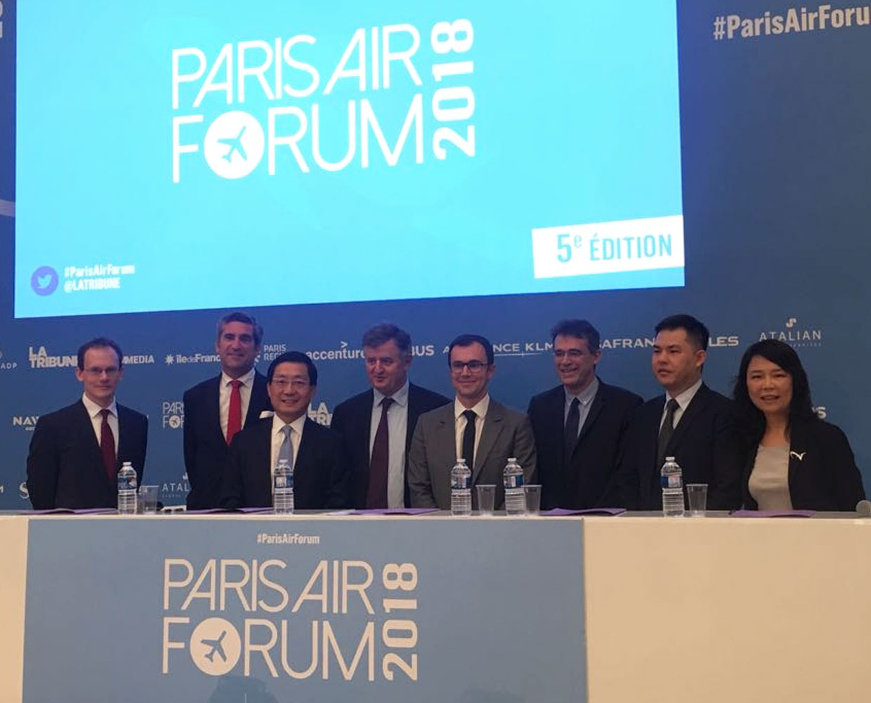ENAC Hong Kong Paris Air Forum 2018