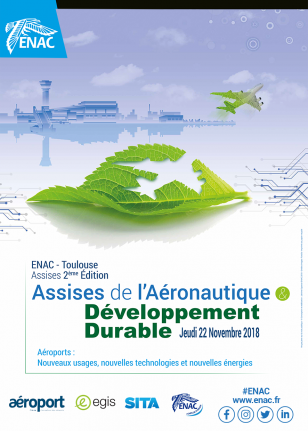 Participez aux Assises de l'Aéronautique et du Développement Durable « Aéroports : nouveaux usages, nouvelles technologies et nouvelles énergies »