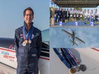 Nicolas Durin, instructeur ENAC et champion du monde de voltige