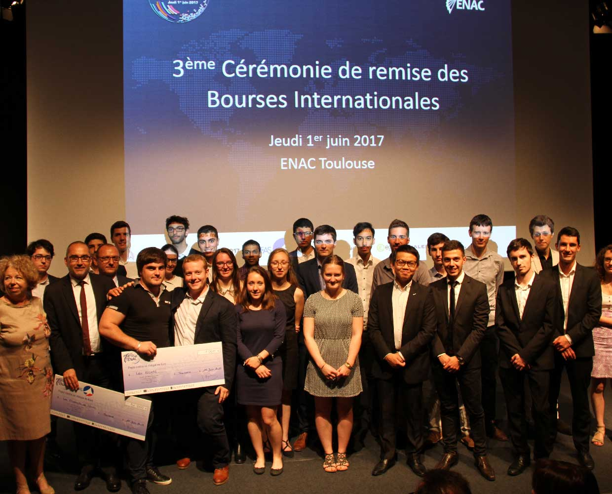 Bourses Internationales 2017