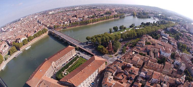 Toulouse Vue aérienne